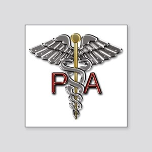"PA Symbol Square Sticker 3"" x 3"""