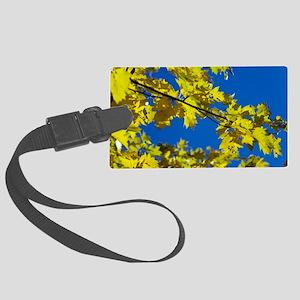 Wild service tree (Sorbus tormin Large Luggage Tag