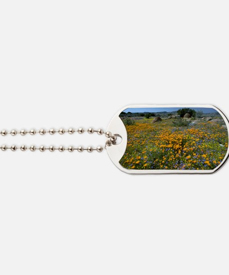 Wildflowers in South Africa Dog Tags
