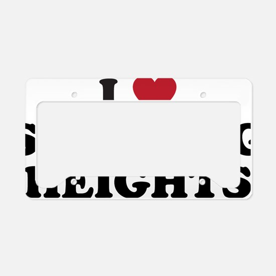 I Love Sterling Heights Michi License Plate Holder