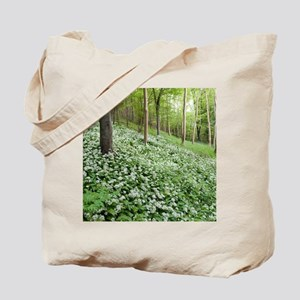 Wild garlic (Allium ursinum) Tote Bag
