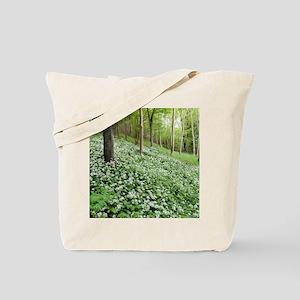 Wild garlic (Allium ursinum) Tote Bag