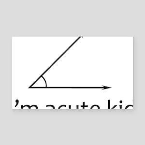 Im acute kid Rectangle Car Magnet