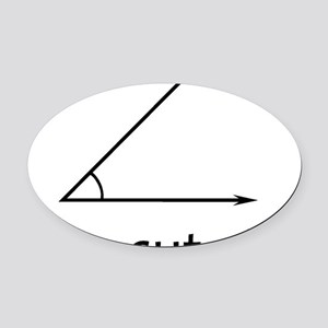 Im acute kid Oval Car Magnet