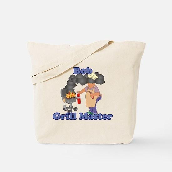 Grill Master Bob Tote Bag