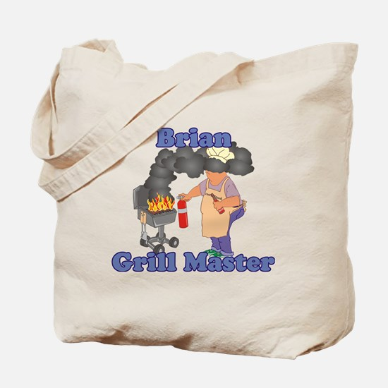 Grill Master Brian Tote Bag
