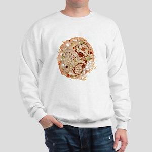 White blood cell, TEM Sweatshirt