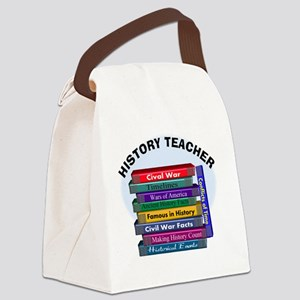 hISTORY TEACHER Canvas Lunch Bag