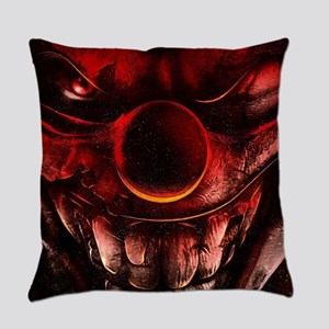 Winky The One Eyed Evil Clown Everyday Pillow