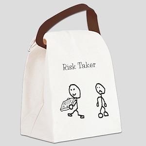 risk taker Canvas Lunch Bag