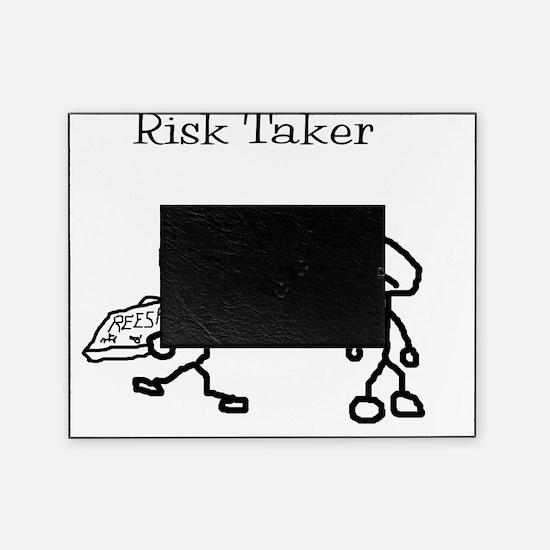 risk taker Picture Frame