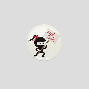 Yard Sale Ninjas Logo Mini Button