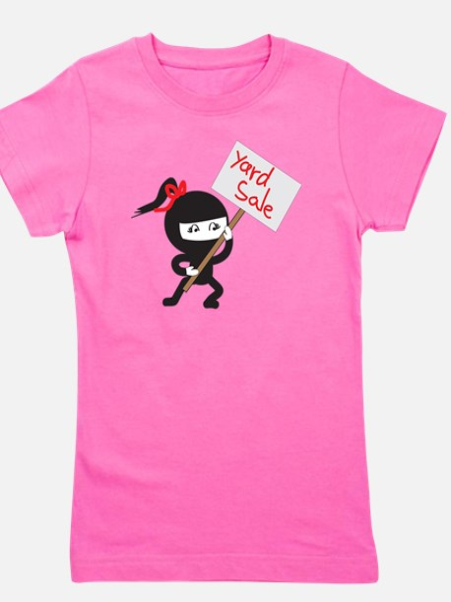 Yard Sale Ninjas Logo Girl's Tee