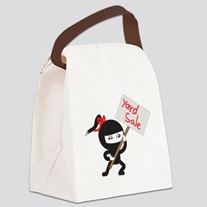 Yard Sale Ninjas Logo Canvas Lunch Bag