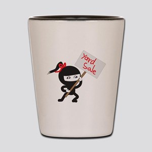 Yard Sale Ninjas Logo Shot Glass
