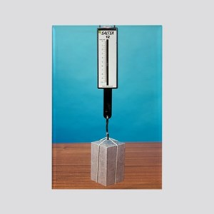 Weight in air and water, image 1  Rectangle Magnet