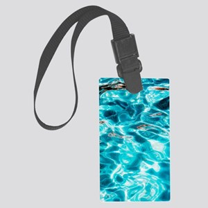Water ripples Large Luggage Tag