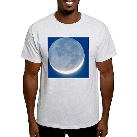Waxing crescent Moon Light T-Shirt