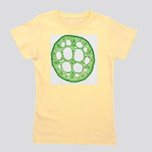 Water lily leaf stalk, light micrograph Girl's Tee