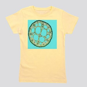 Water-lily leaf stem, light micrograph Girl's Tee