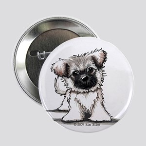 "Tibetan Spaniel 2.25"" Button (10 pack)"