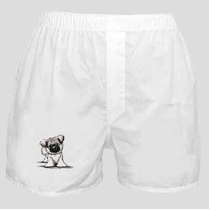 Tibetan Spaniel Boxer Shorts