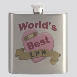 Worlds Best LPN Flask