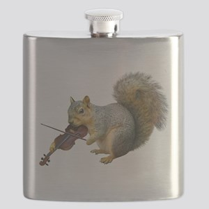 Squirrel Violin Flask