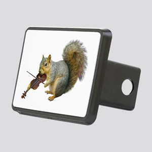 Squirrel Violin Rectangular Hitch Cover