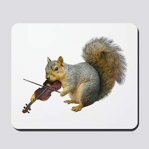 Squirrel Violin Mousepad