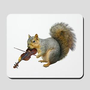 Squirrel Violin Mousepad