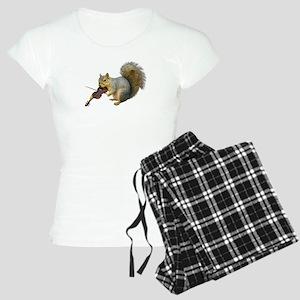 Squirrel Violin Women's Light Pajamas