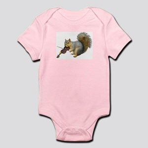 Squirrel Violin Infant Bodysuit