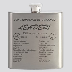 Proud to be Leader Flask