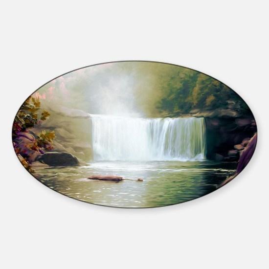 Cumberland Falls Sticker (Oval)