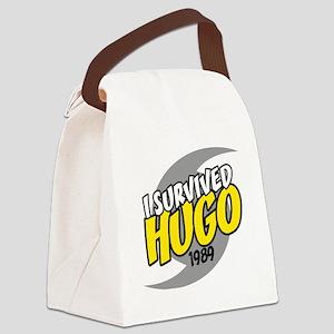 I Survived Hugo Hurricane South C Canvas Lunch Bag