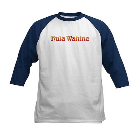 Hula Wahine (B) Kids Baseball Jersey