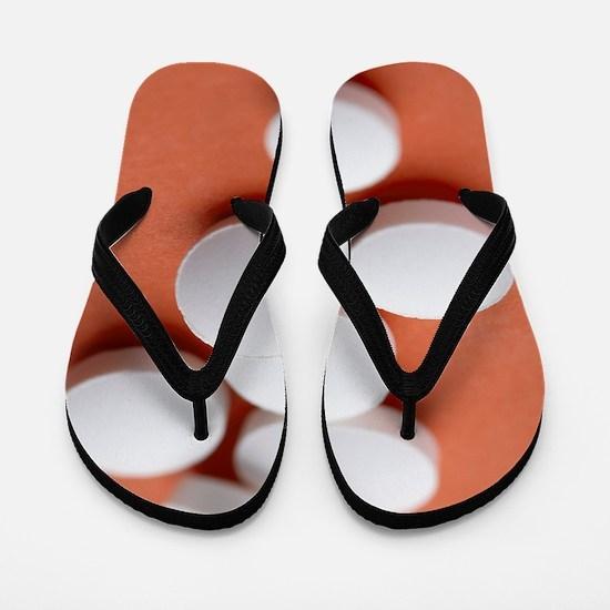Vitamin C tablets Flip Flops