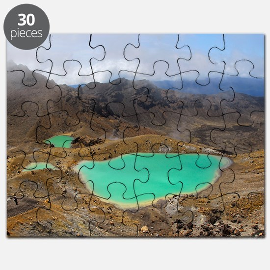 Volcanic lakes, New Zealand Puzzle