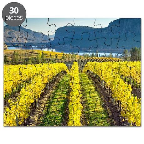 Vineyard, Canada Puzzle
