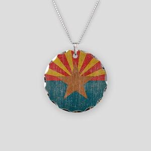 VintageArizona Necklace Circle Charm