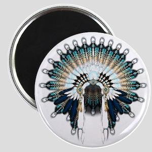 Native War Bonnet 02 Magnet