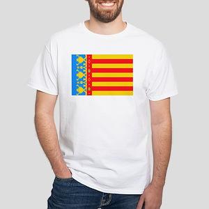 Valencia White T-Shirt