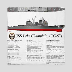 USS Lake Champlain (CG-57) Queen Duvet