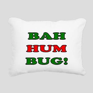 Bah Hum Bug! Rectangular Canvas Pillow