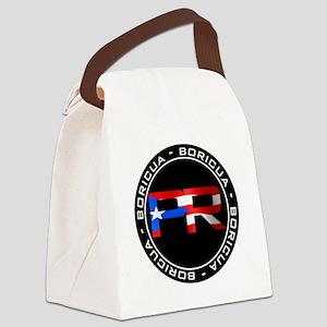 PR BORICUA Canvas Lunch Bag