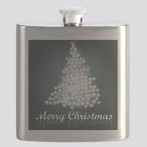 Christmas Red Flask