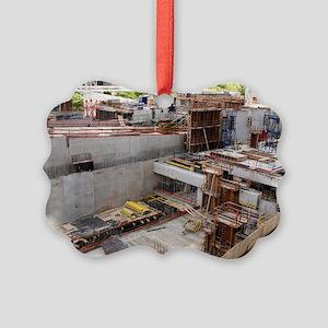Underpass construction in Paris Picture Ornament