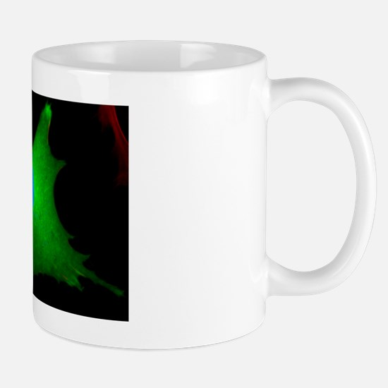 Vaccinia virus infected cell Mug