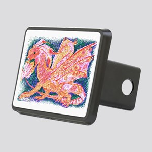 Little Jewelled Dragon Rectangular Hitch Cover